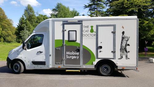 Mobile surgery van