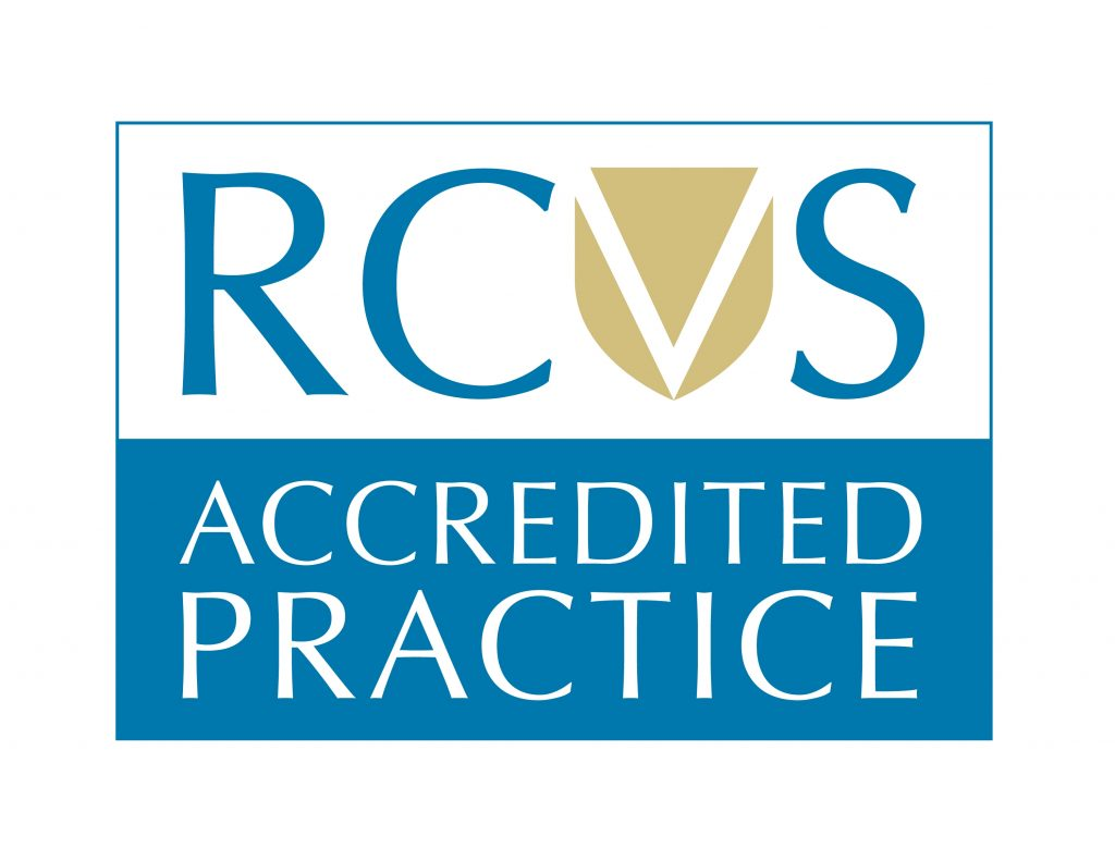 RCVS Accredited Practice Logo